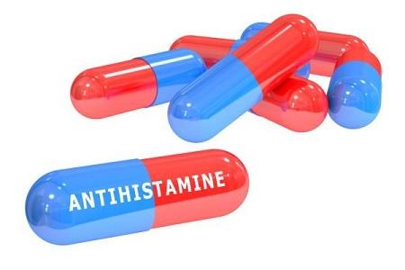 آنتی هیستامین مصرف کنید